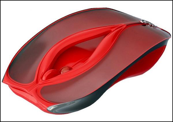 Компьютерная мышка с точкой G