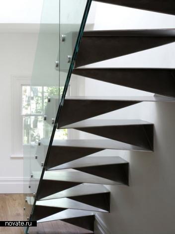 Лестница  Origami Stair от Белла Филипса (Bell Phillips)