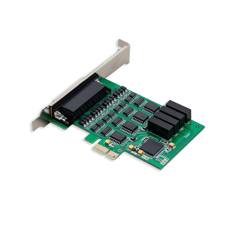 4 Port Rs 232 Serial Pci E 2 0 X1 Card