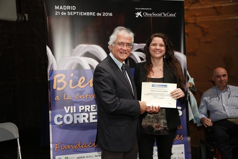 Fundación Novaterra, finalista a los VII Premios Corresponsables