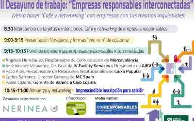 29 junio II Desayuno empresas Responsables Interconectadas