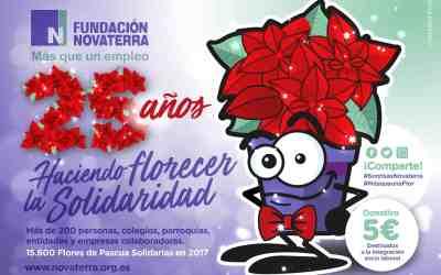 """Socarrat Studio diseña a """"Florencia"""", la nueva mascota de Fundación Novaterra para celebrar el 25 aniversario de su campaña Navideña"""
