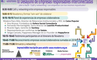 (7 feb.) IV Networking Empresas Responsables Interconectadas