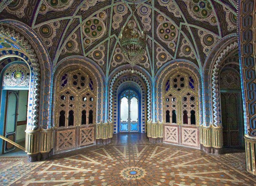 Risultati immagini per Firenze, gli Emirati arabi si fanno avanti per il Castello di Sammezzano