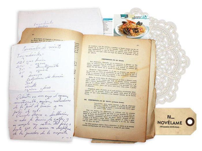 Libro de recetas de familia