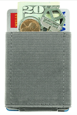 Nomatic Wallet Grey Side Pocket