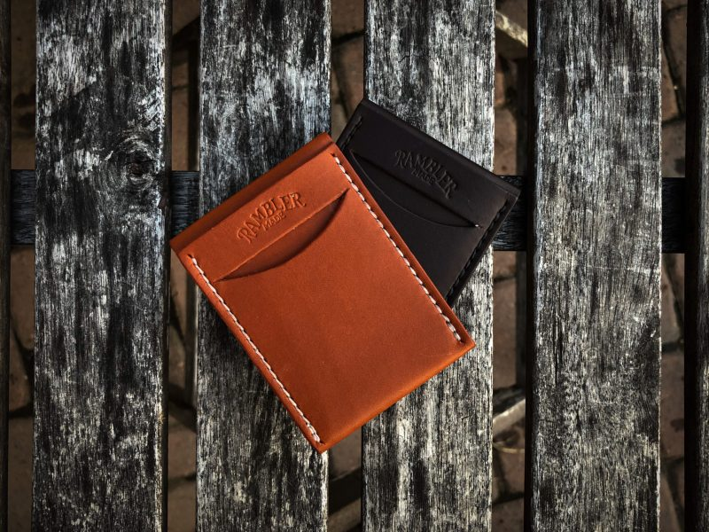 The Scout Wallet by Rambler Made Chestnut and Dark Brown