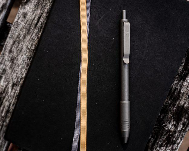 BigIDesign To Click EDC Pen Stonewashed