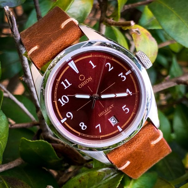 Orion Hellcat Automatic Watch in Red