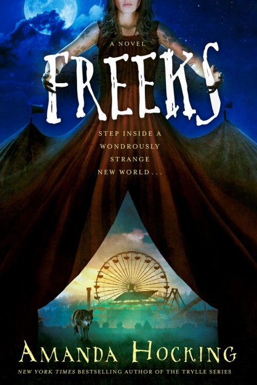 Blog Tour & Giveaway – Freeks by Amanda Hocking