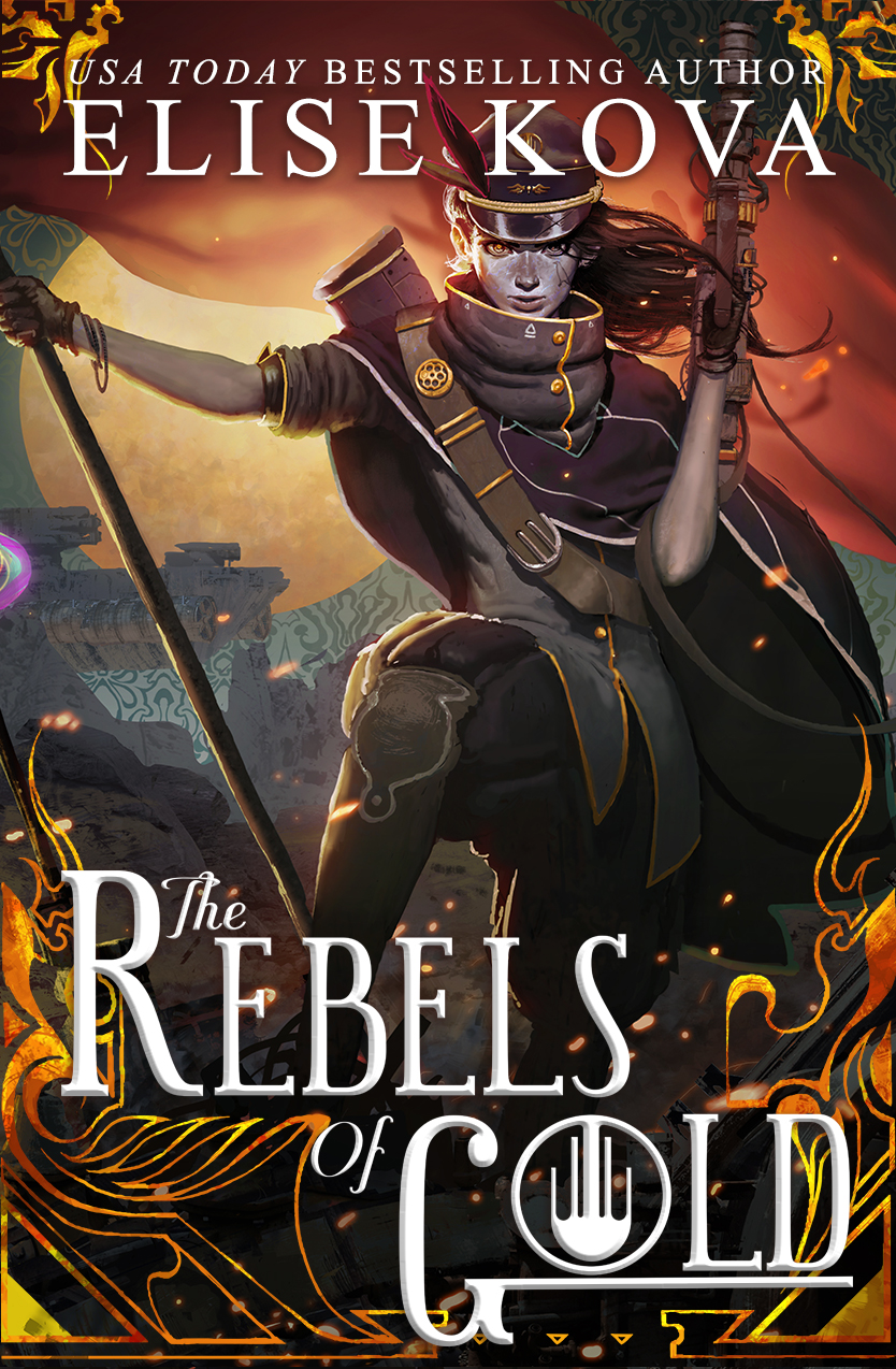 Cover Reveal – The Rebels of Gold by Elise Kova
