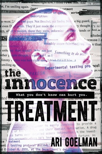 Review – The Innocence Treatment by Ari Goelman