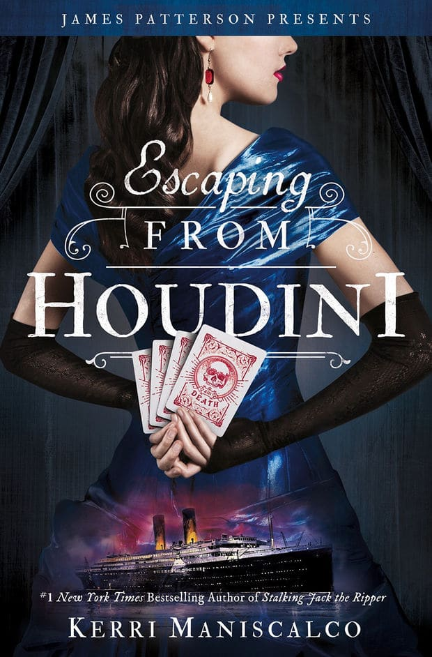 A Thrilling Transatlantic Murder Mystery | Escaping from Houdini by Kerri Maniscalco