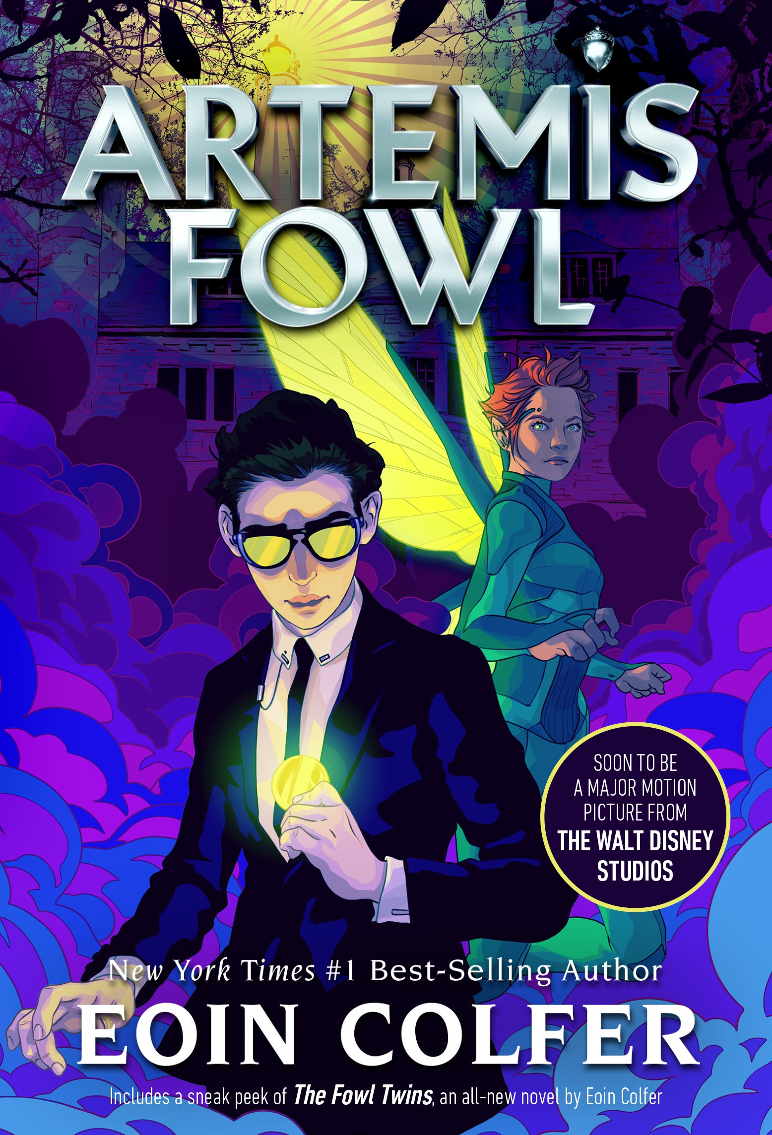 Re-Read Review + #ArtemisFowlReadathon | Artemis Fowl by Eoin Colfer