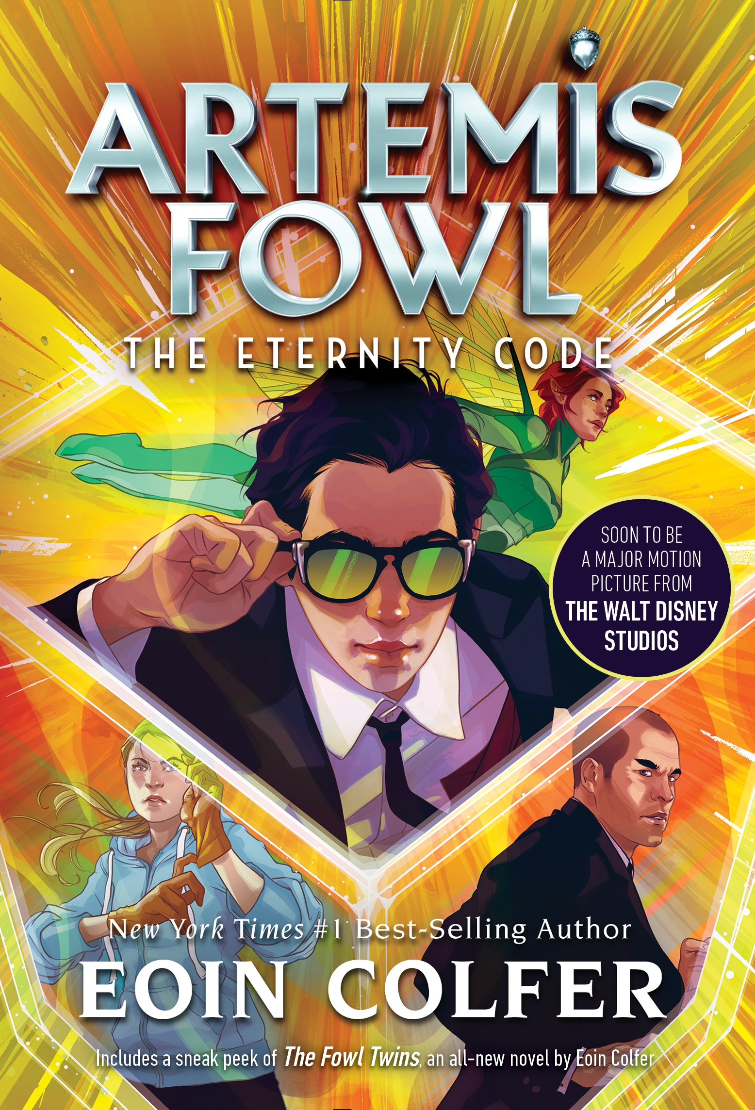Book review of The Eternity Code, book 3 of the Artemis Fowl series by Eoin Colfer