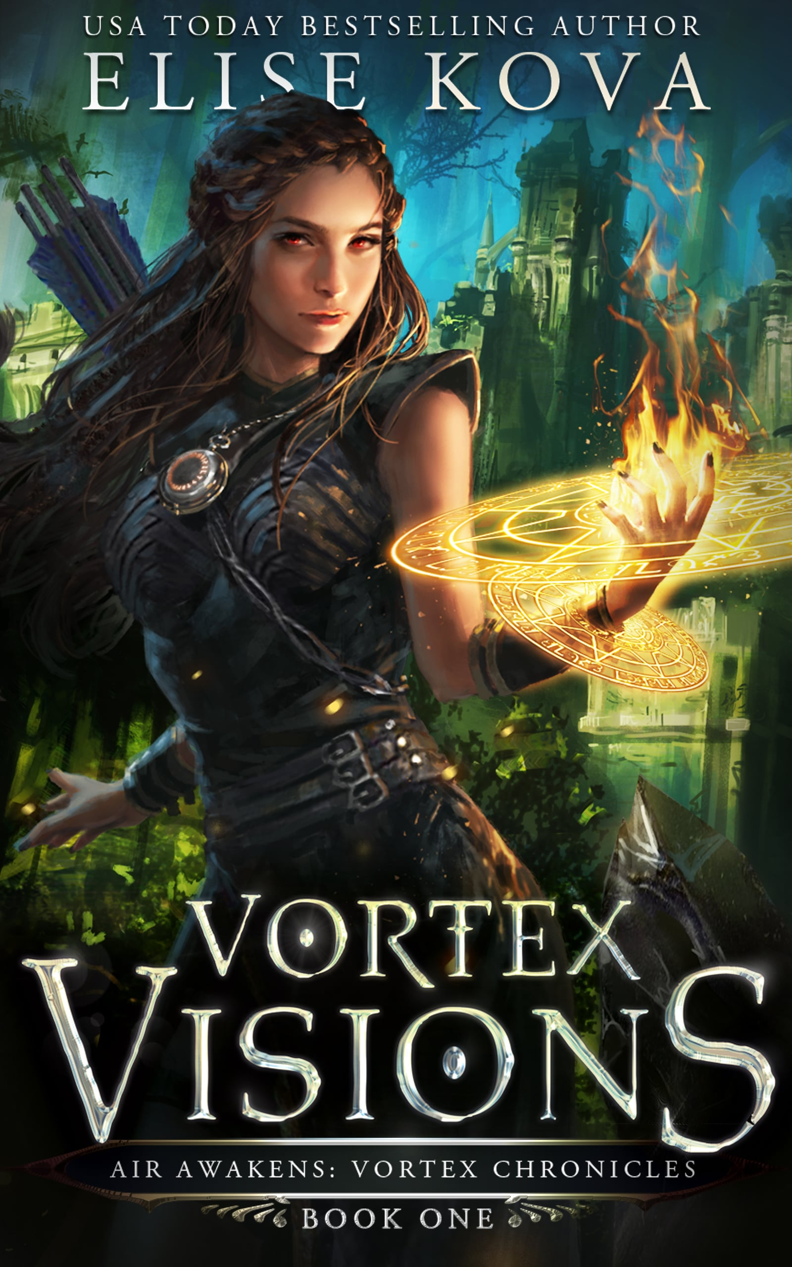 ARC Review | Vortex Visions by Elise Kova