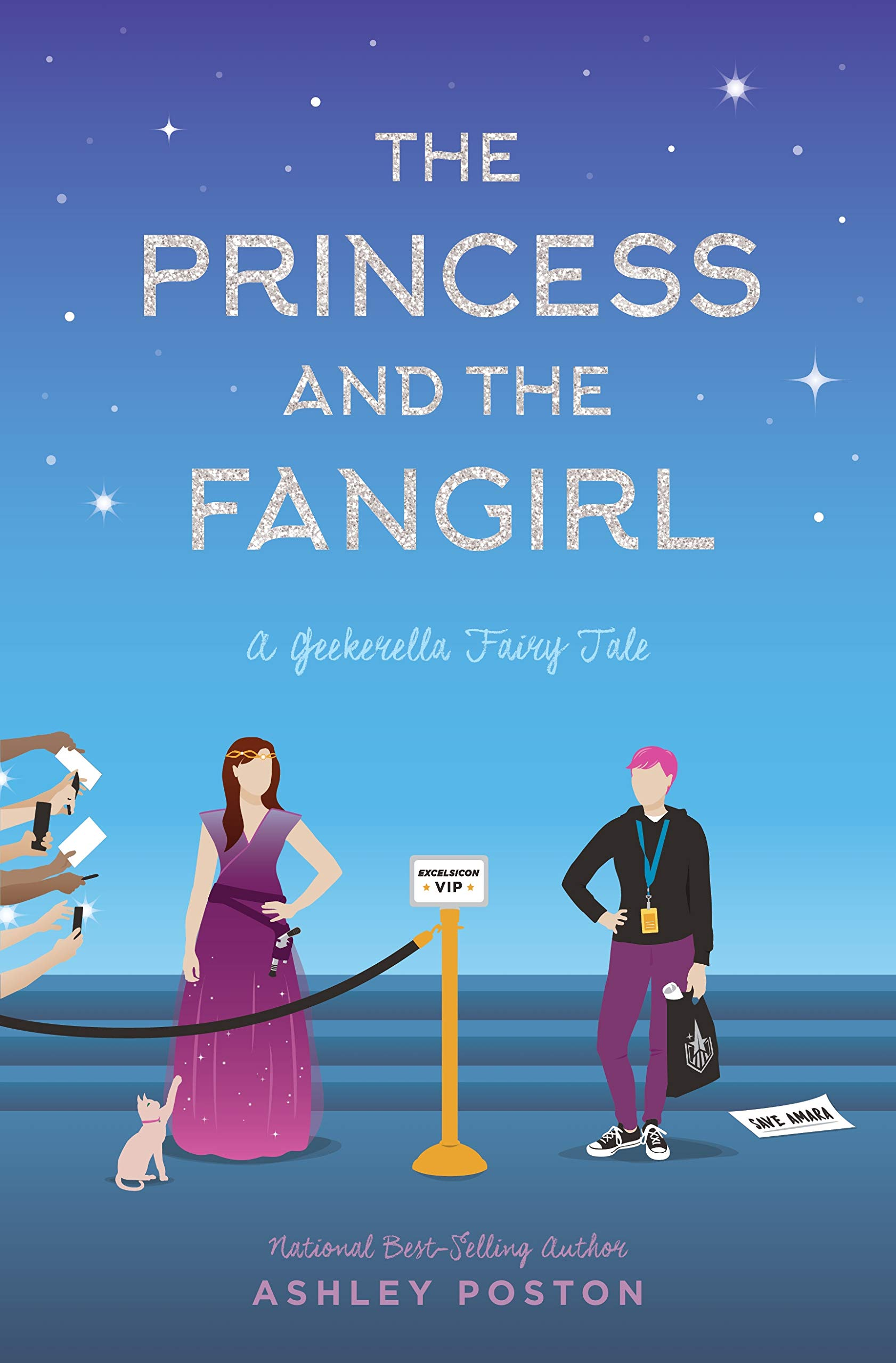 ARC Review | The Princess and the Fangirl by Ashley Poston