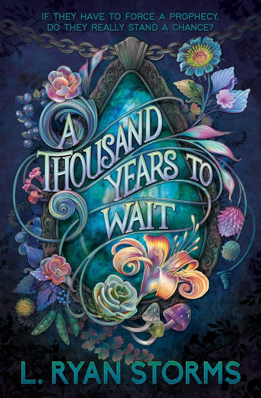 A Thousand Years to Wait by L. Ryan Storms book cover to celebrate the upcoming release of the book and author interview on NovelKnight Book Reviews.