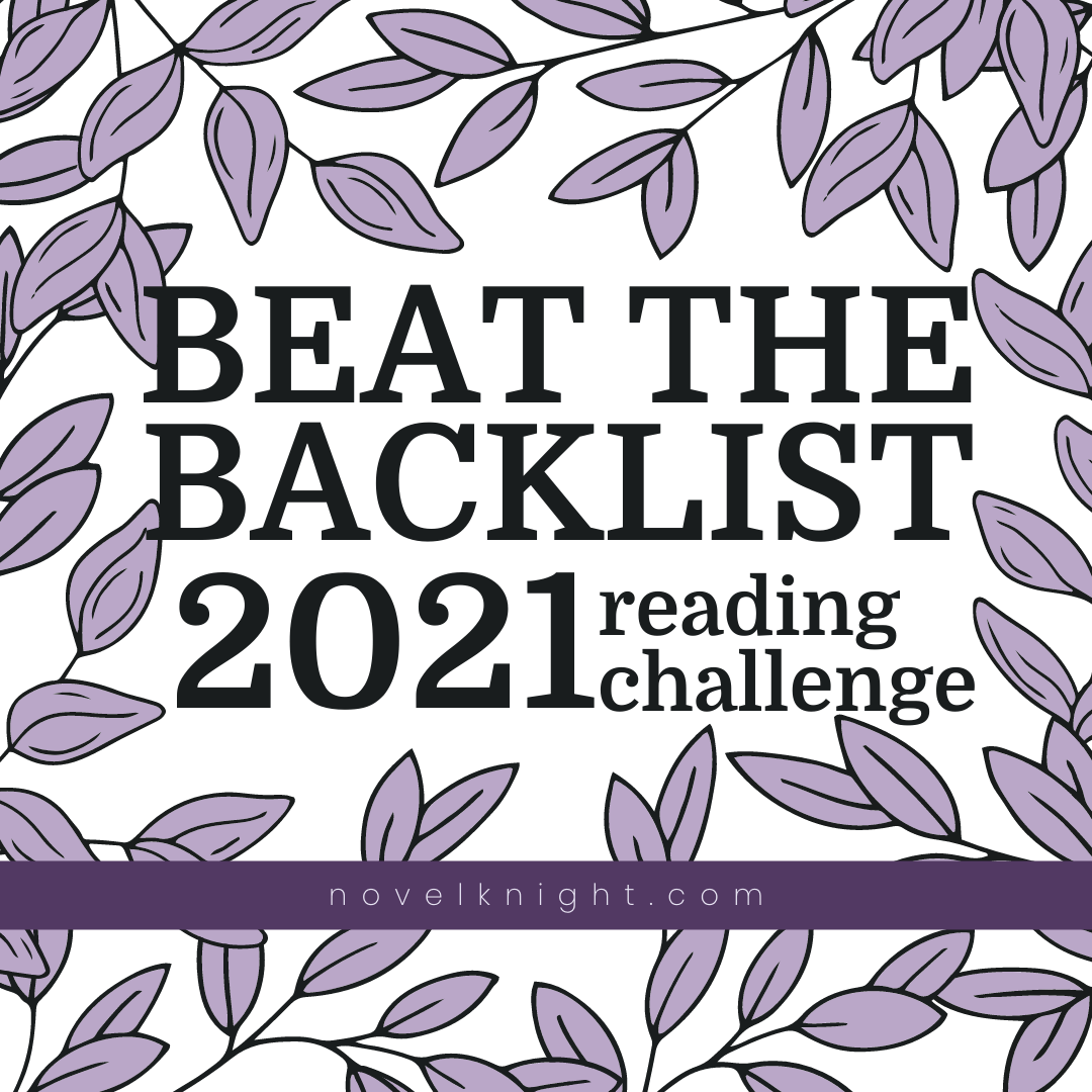 2021 Beat the Backlist Reading Challenge