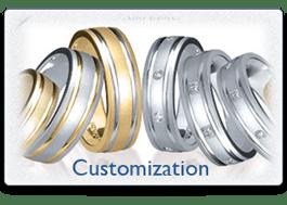 Novell Wedding Band Customization