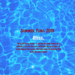 August 1st Update- Ready! Set! Go! Your Kick Ass Summer Reading Fling 2019! Gomez is SO up for this!