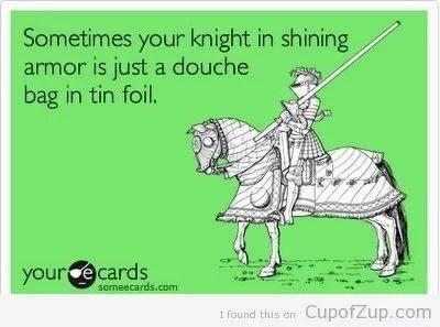 White Knight Meme