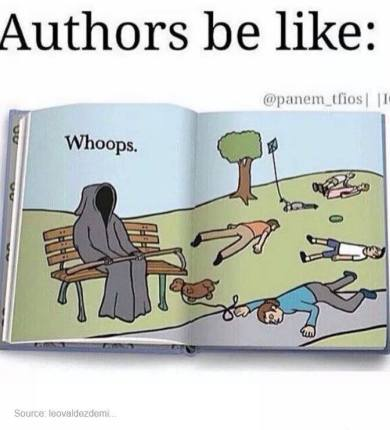 Authors Killing Characters