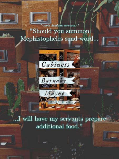 Cabinets of Barnaby Mayne by Elsa Hart