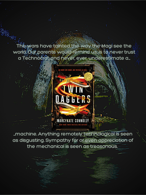Twin Daggers by MarcyKate Connolly Review