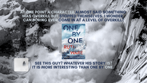 One By One By Ruth Ware Review