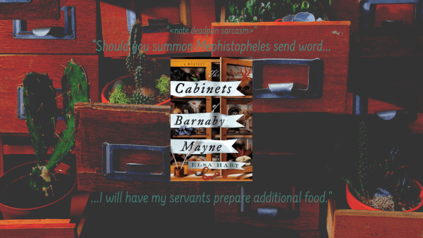 Cabinets of Barnaby Mayne by Elsa Hart Publishers Weekly Best of 2020