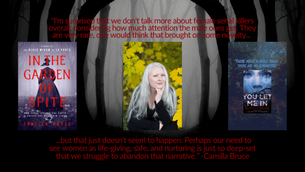 In the Garden Of Spite Camilla Bruce Interview