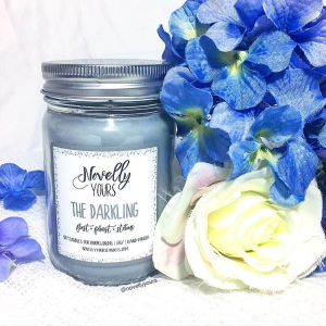 The Darkling | 12oz jar | Novelly Yours Candles