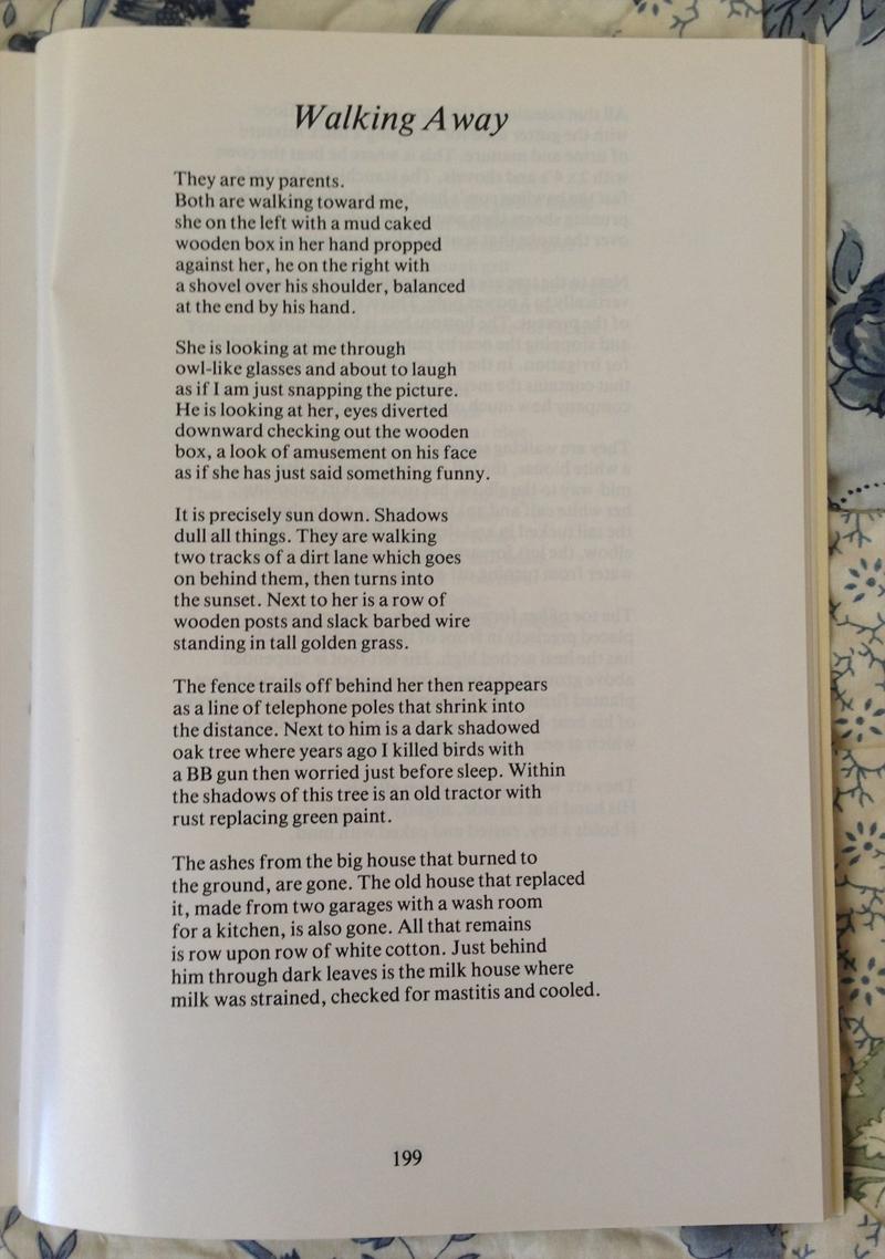 """Walking Away"" by David Sheppard – page 1"