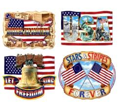 American Pride Cutouts