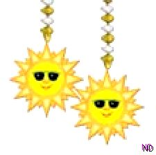 Dangling Sun Decoration