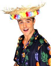 Beachcomber Hat With Flowers