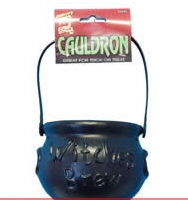 Cauldron Black 15cm High