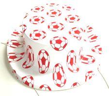 Mini Plastic Football Hats - 10