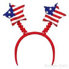 USA Stars and Stripes Head Bopper