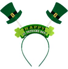 St Patrick's Day Headbopper
