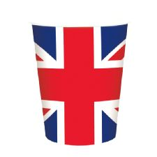 Union Jack Paper Cup (8 per pack)