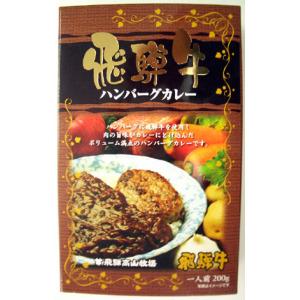 飛騨高山牧場 飛騨牛ハンバーグカレー 1食 ¥540|販促グッズの企畫・販売 ノベルティ・エブリデイ