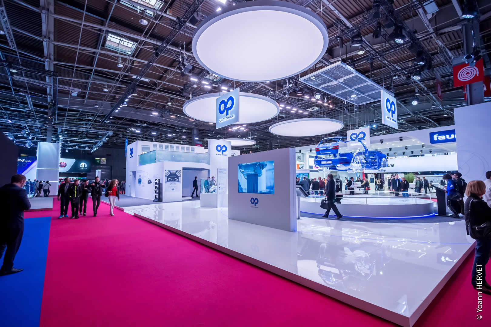Mondial De LAutomobile 2016 Stand Plastic Omnium Pour