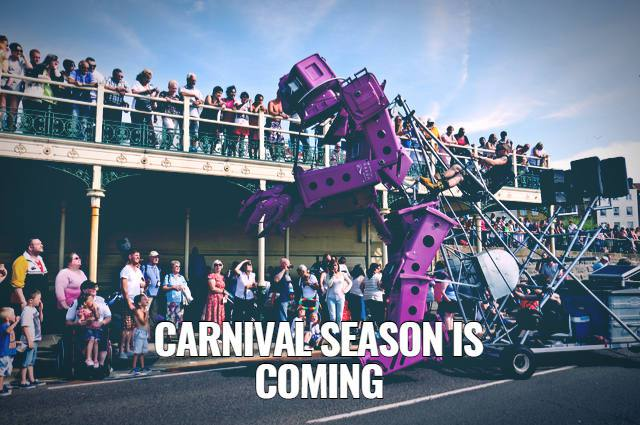 Carnival Season Is Coming! Image by Padmayogini (via Shutterstock).