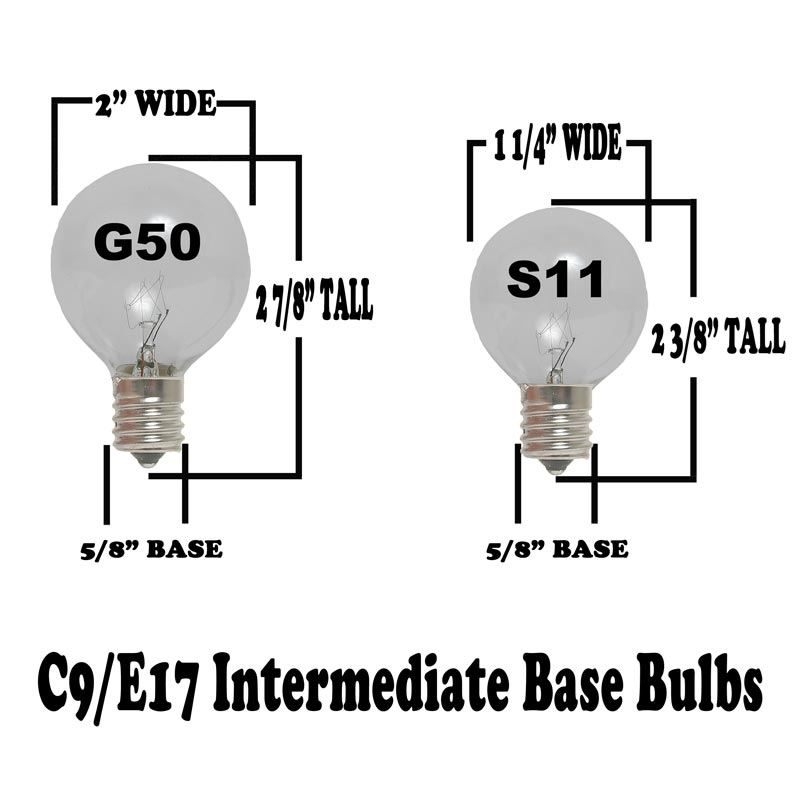 C7 Led Replacement Bulbs
