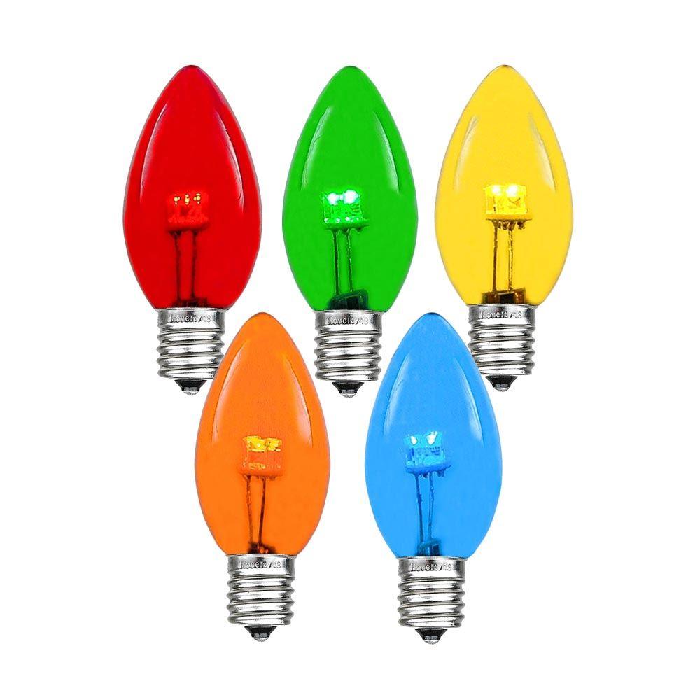 Replacement Christmas Tree Light Bulbs 25 Volt