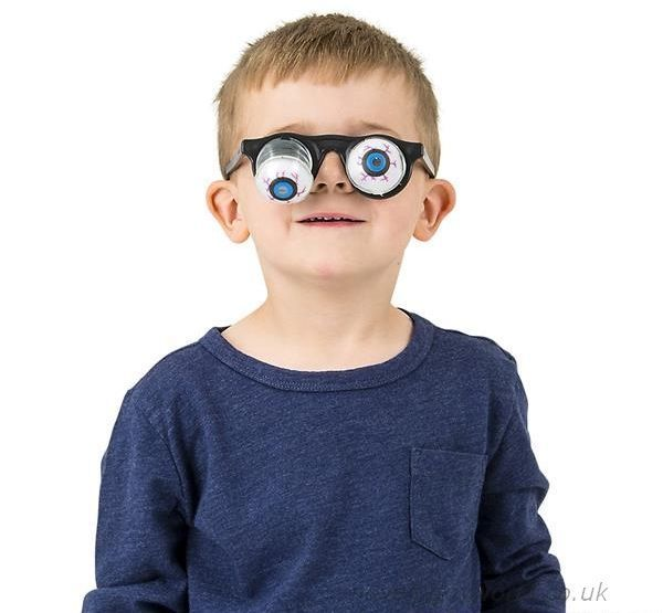 Bulk Buy Pop Out Drooping Eyes Novelty Glasses Child