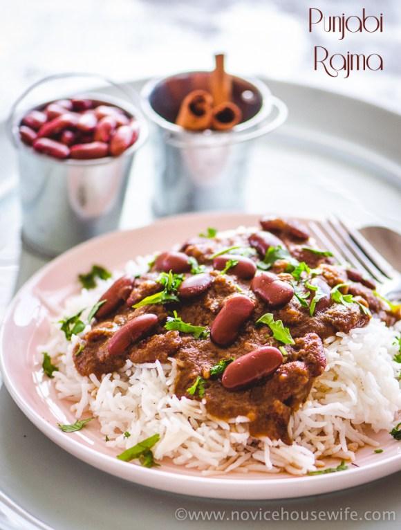 Punjabi rajma | The Novice Housewife
