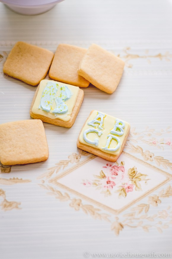 Eggless sugar cookies-7